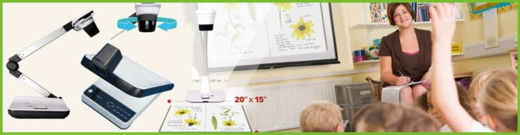 How an Ultra HD Document Camera be used as 3D Visualizers?